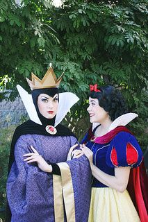 Snow White & The Evil Queen   Flickr - Photo Sharing!