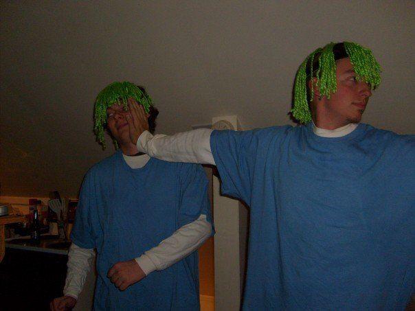 Lemmings. #costume #halloween #mysterymen | Diy costumes ... - photo#3