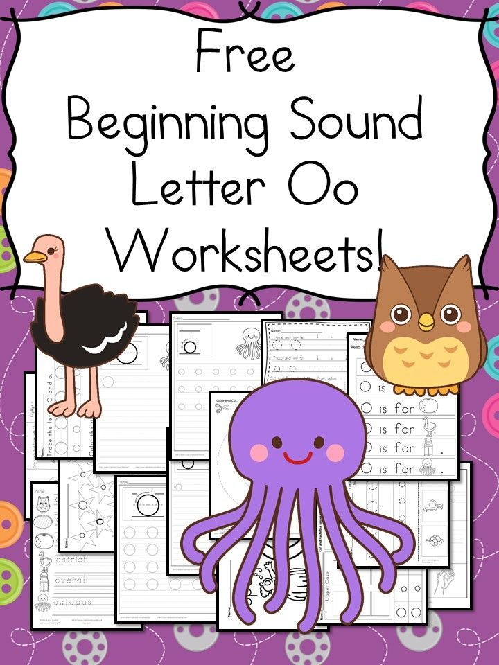 18 Free Beginning Sounds O Worksheets Easy Download Teaching