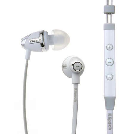 Klipsch Image S4i White Earphones In Ear Headphones White Headphones Headphones