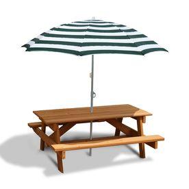 48 in brown cedar rectangle picnic table cabin pinterest rh pinterest com