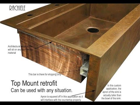 Retrofit Farm Sink Installation In Existing Cabinetry By Rachiele