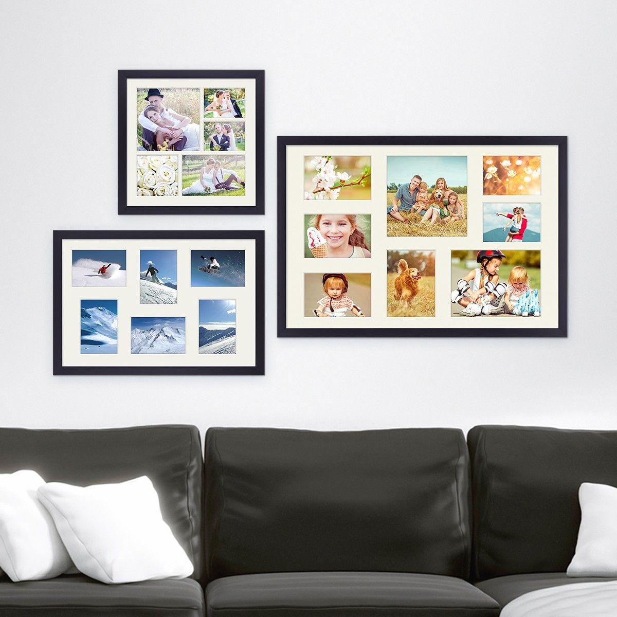 Fotocollage-Bilderrahmen verschenken | Bilderwände gestalten ...