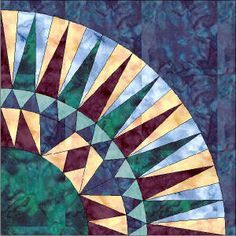 This is really cool...10 different free NYB patterns--all paper ... : paper piece quilt patterns - Adamdwight.com