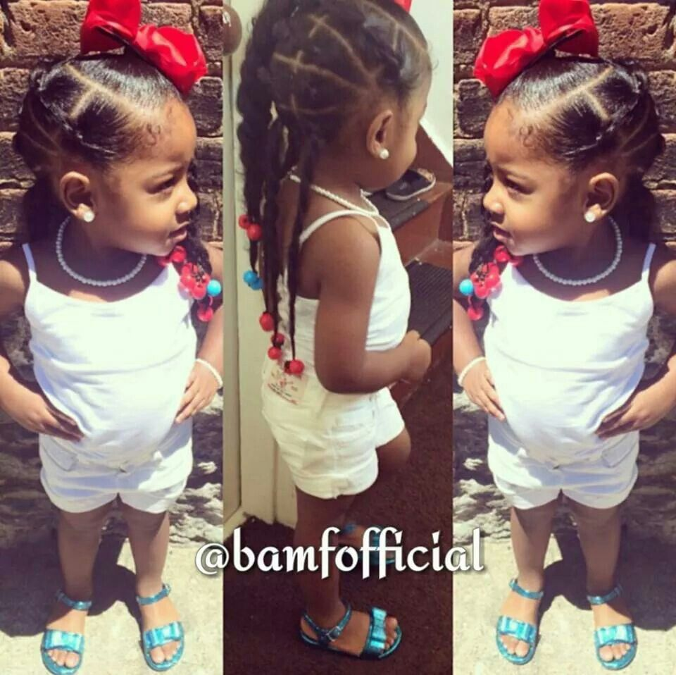 Pin by darla darla on locs pinterest baby girl hairstyles girl