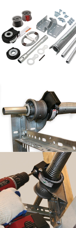 Garage Door Parts And Accs 179687 Ez Set Torsion Conversion Kit 16 Ft X 7 Ft Garage Doors 156 Lbs Garage Door Torsion Spring Garage Door Parts Garage Doors