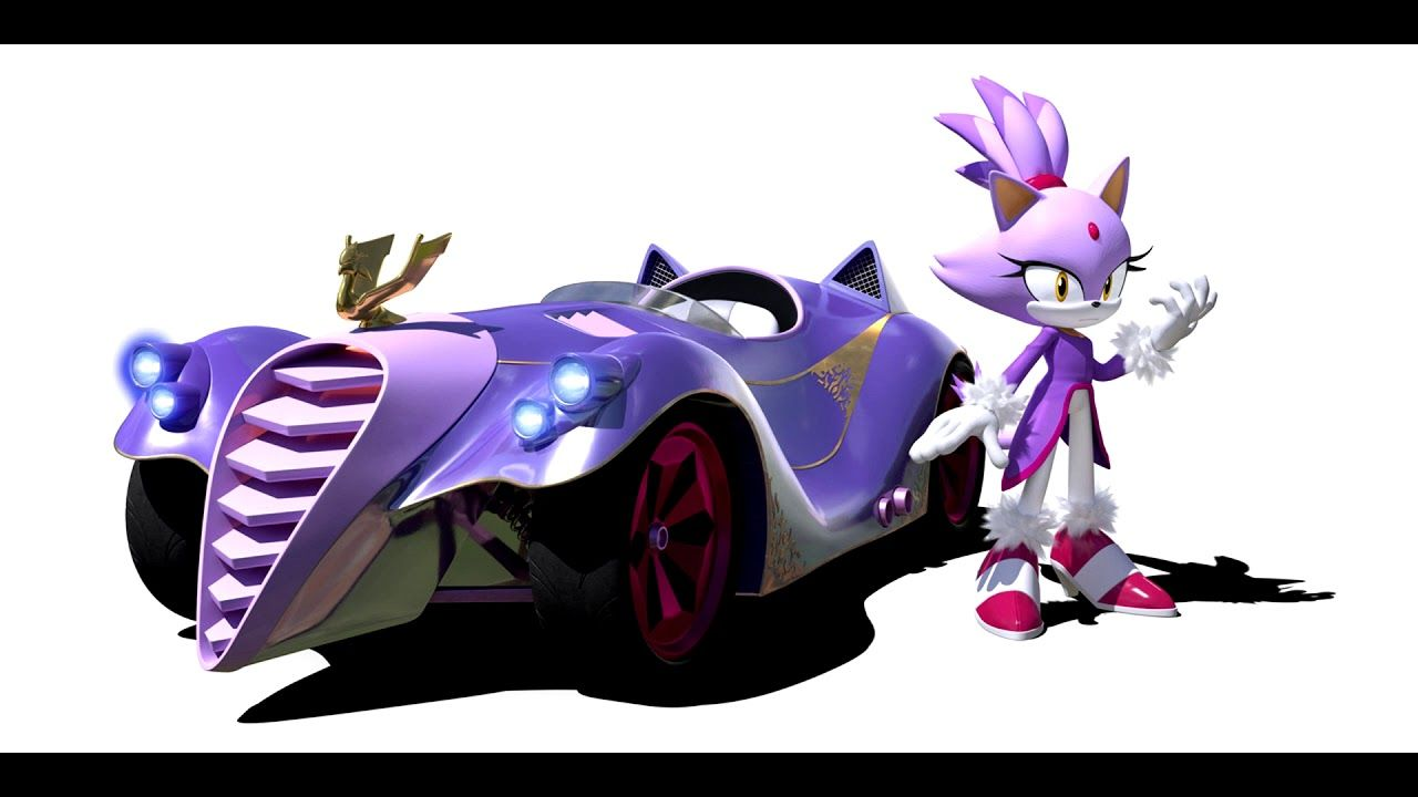 Team Sonic Racing Blaze Voice Clips Sonic Sonic Car Sonic Fan Art