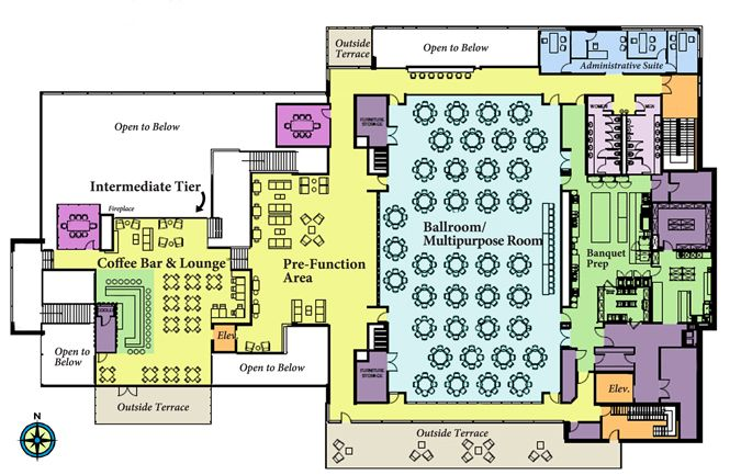 Student Center Floor Plan - Google Search