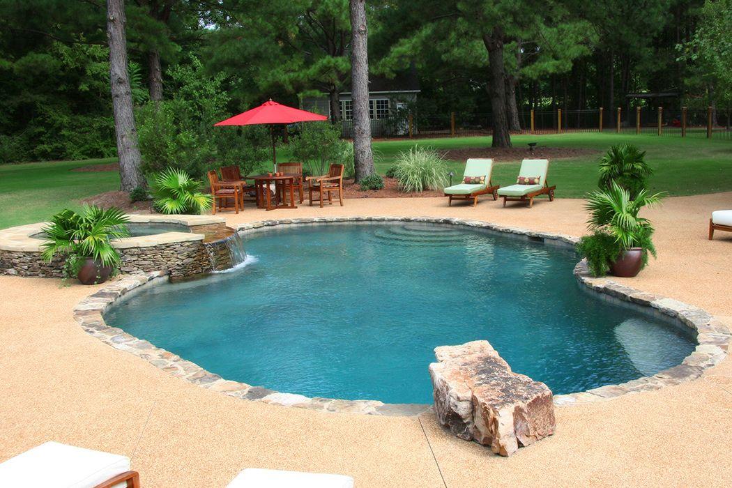 24 Wonderful Rock Swimming Pools