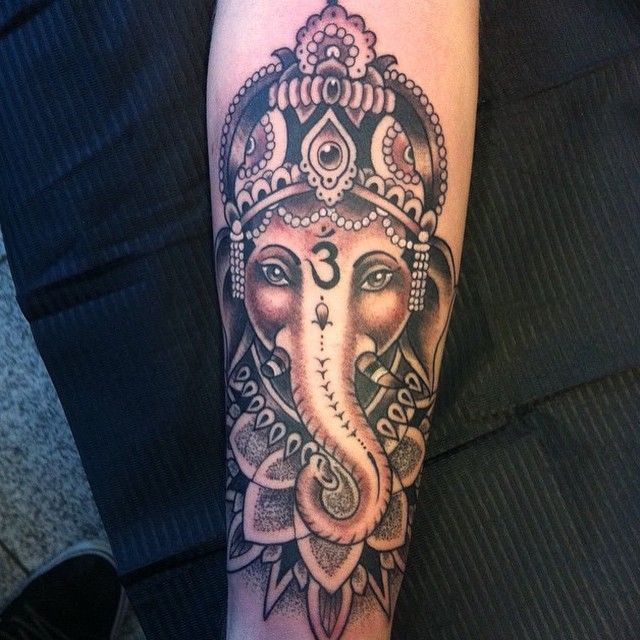 15 Stunning Yoga Tattoos Feat Ganesha Henna Tatuajes Ganesha