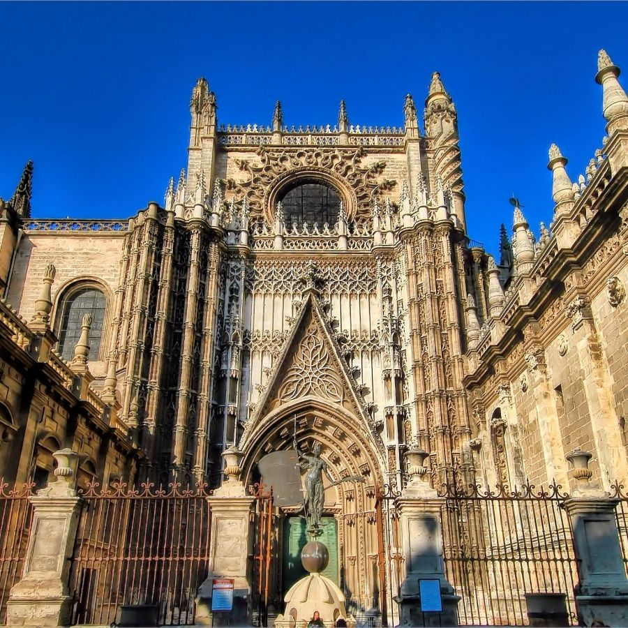Seville Cathedral Utrip Spain And Portugal Gothic Cathedral Cathedral