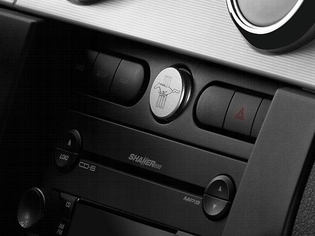 Modern Billet Mustang Satin Power Plug Tri Bar Logo 41427 05 09 All Mustang Volkswagen Karmann Ghia Bar Logo