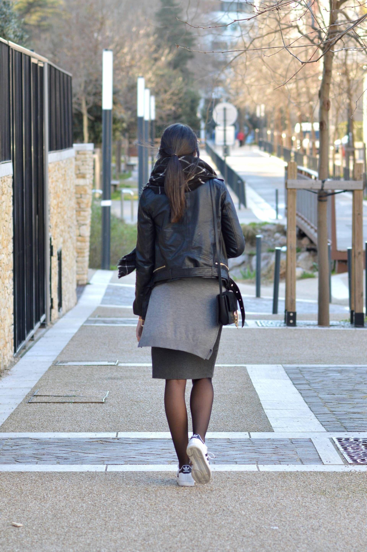 538c09c8b67 ensemble maille blog mode tendance 2016 jupe baskets