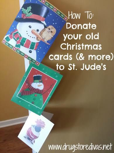 Donate Old Christmas Cards 2020 Pin on 2020  be a better me