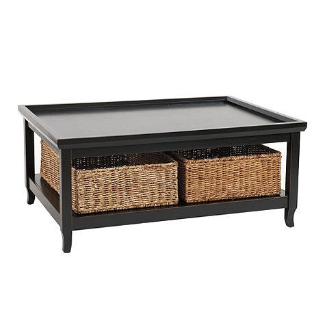Morgan Cocktail Tables Large Oversized coffee table Storage