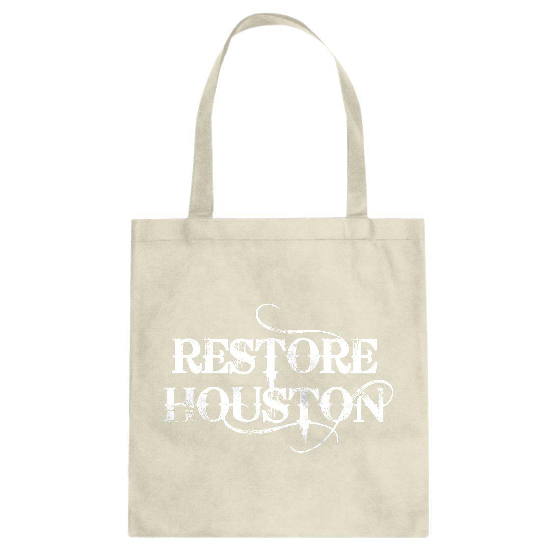 Tote Restore Houston Canvas Tote Bag