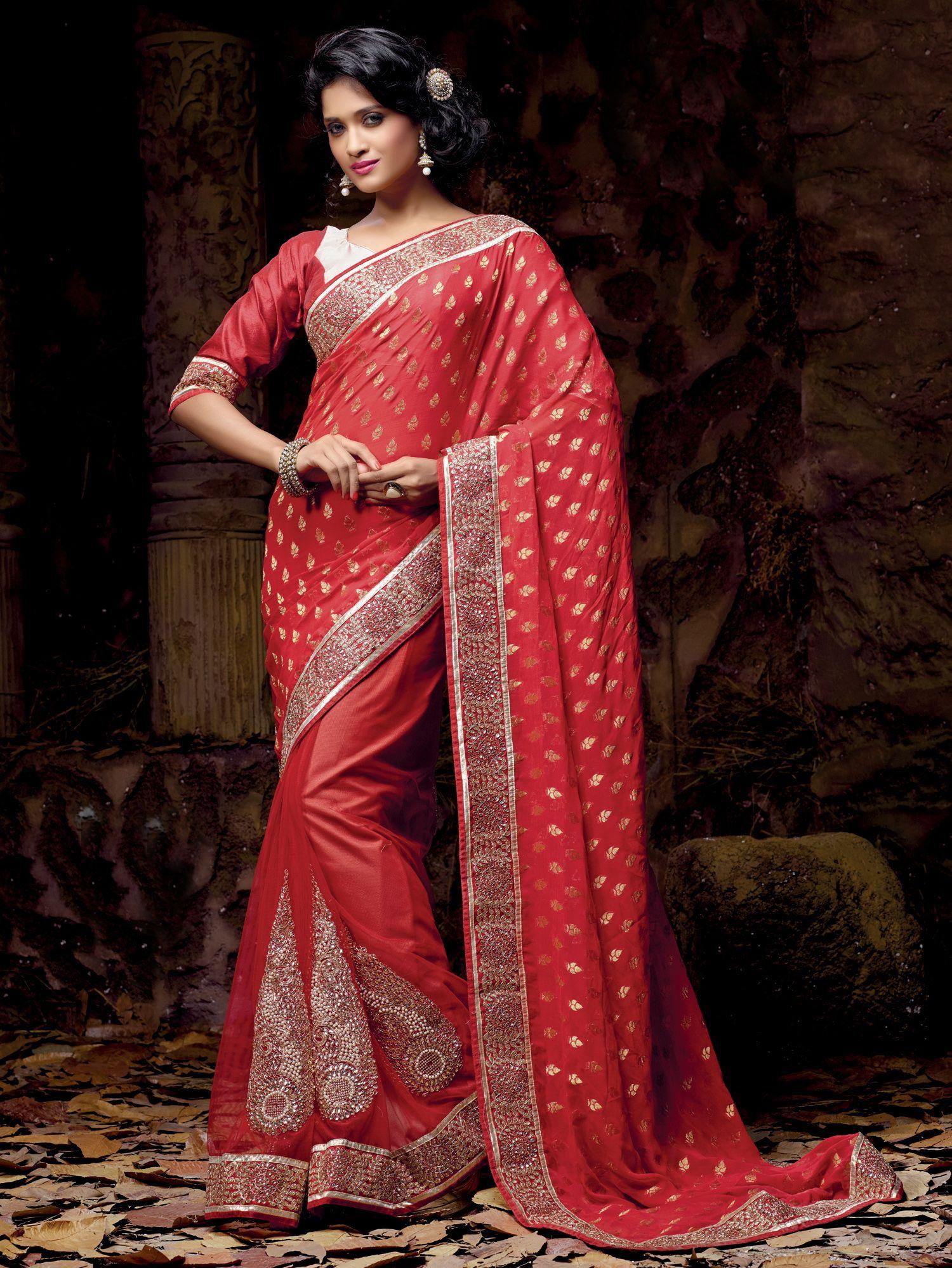 Net saree images shop for lavish maroon saree  rs   saree designersaree