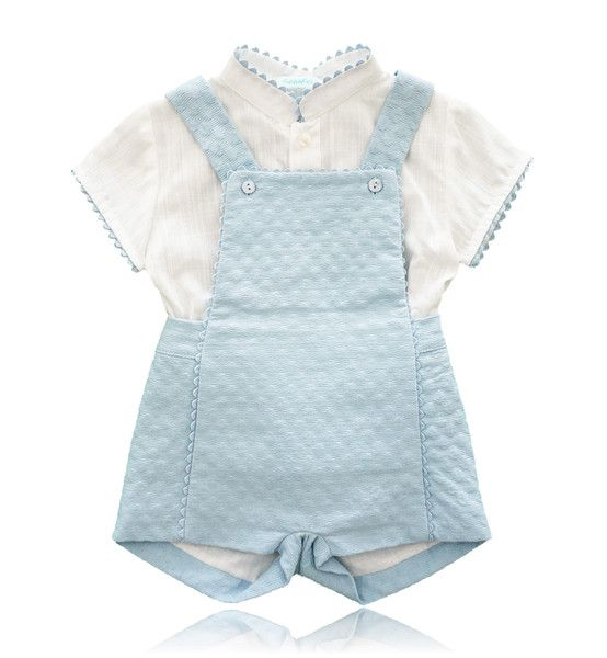 Spanish Baby Clothes Baby Dungaree Two Piece Shorts