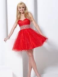 Resultado de imagen para vestidos de xv años 2016 rojo