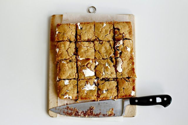 Milk and Honey: S'mores Cookie Bars