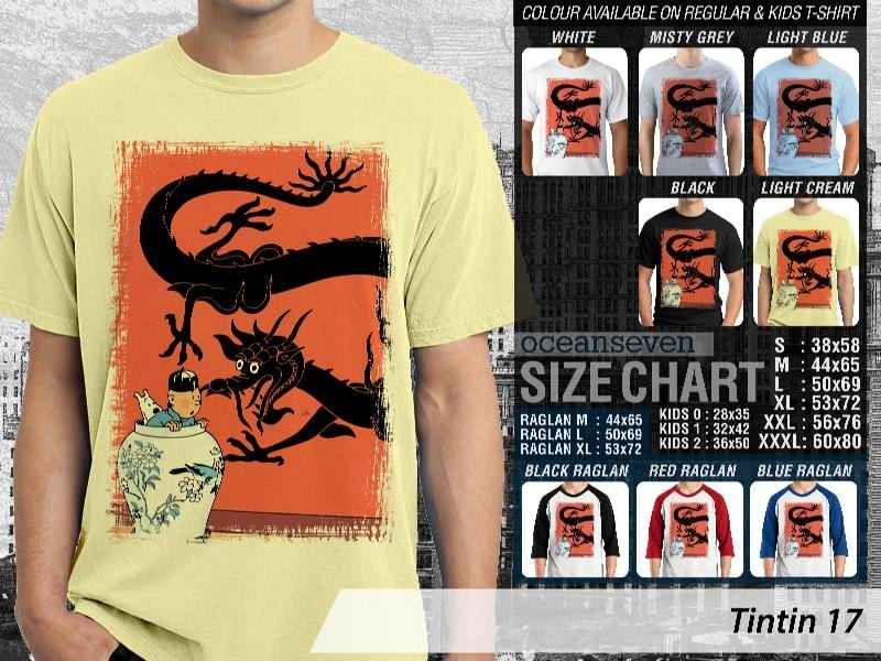 Kaos Comic Tintin Adventures, Kaos Film Tintin Terbaru, Kaos Film Tintin in America