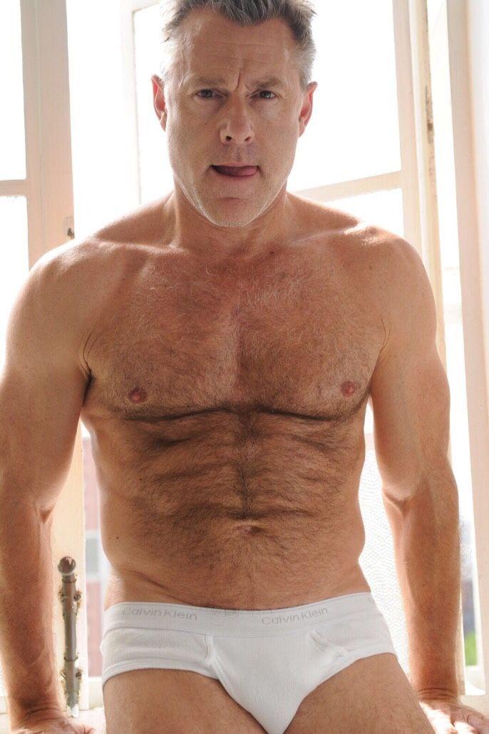 Boxer Briefs Mature Sexy Men Underwear