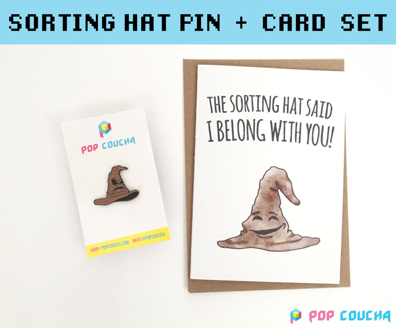 Harry Potter Hufflepuff Enamel Pin Sorting Hat