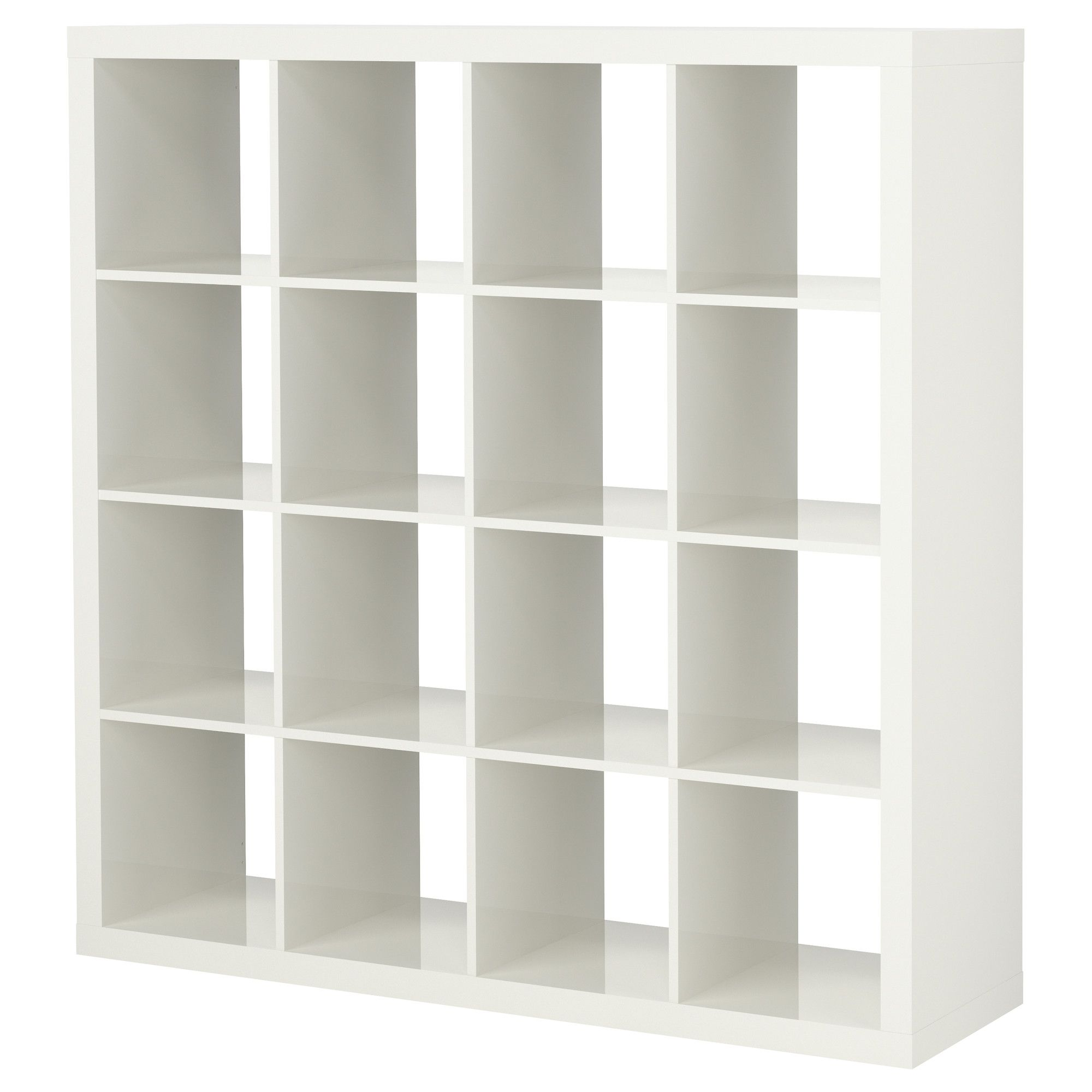 EXPEDIT Shelving unit - high gloss white - IKEA: craft room