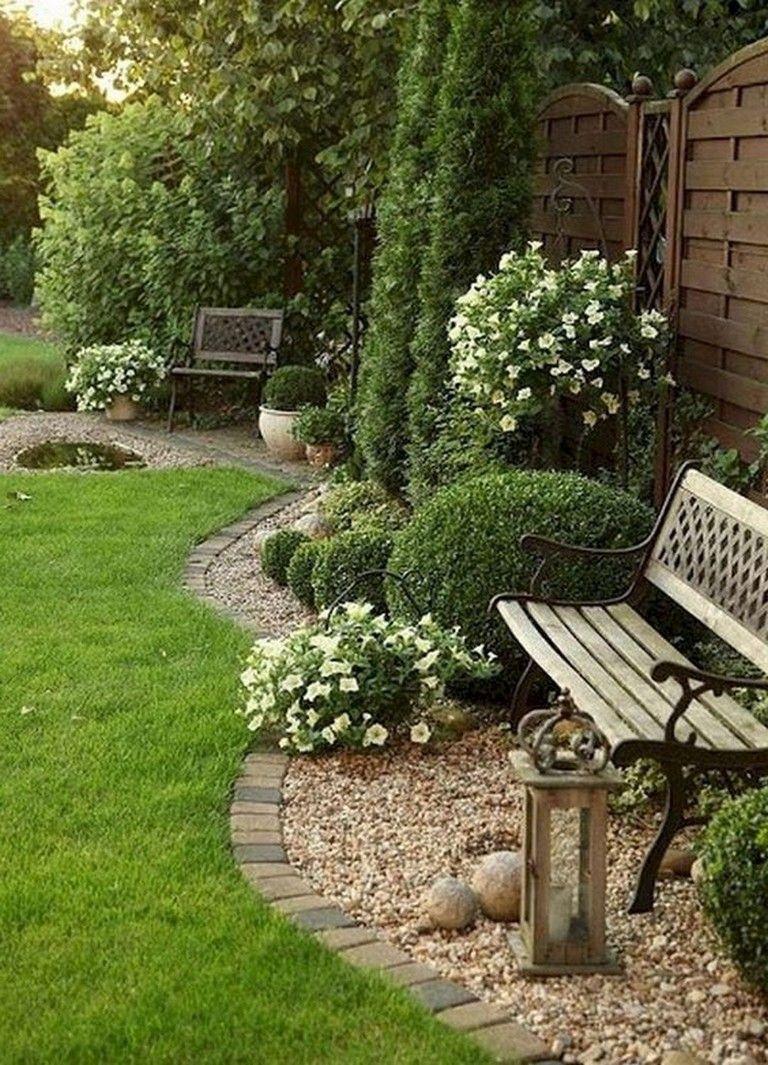 Front Yard Garden Design In 2020 Backyard Landscape Architecture Rock Garden Landscaping Front Yard Landscaping Design