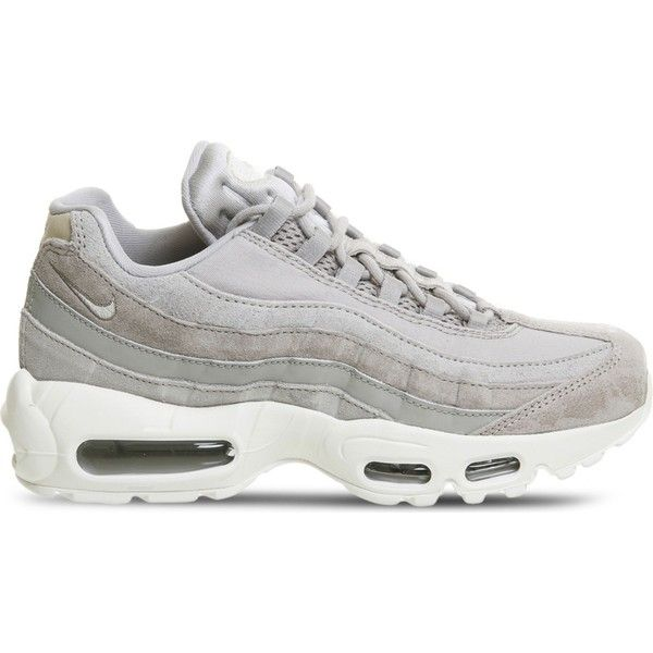 new arrivals b0b59 cf9e8 Nike Air Max 95 leather trainers (€115) ❤ liked on Polyvore featuring shoes