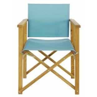 Buy Habitat Africa Folding Chair Sling Sea Blue At Argos Co Uk