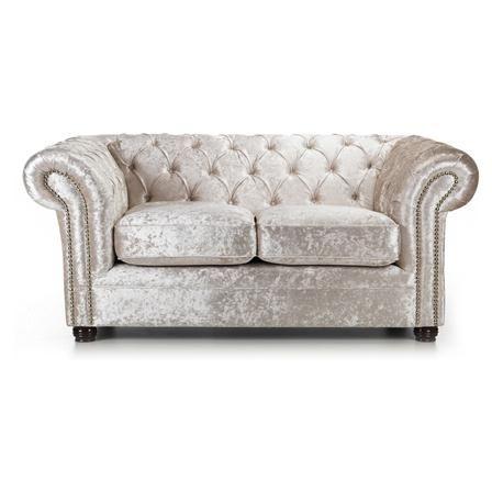 Glam Chesterfield 2 Seater Sofa Oyster Retro Sofa Classic Sofa Sofa Next