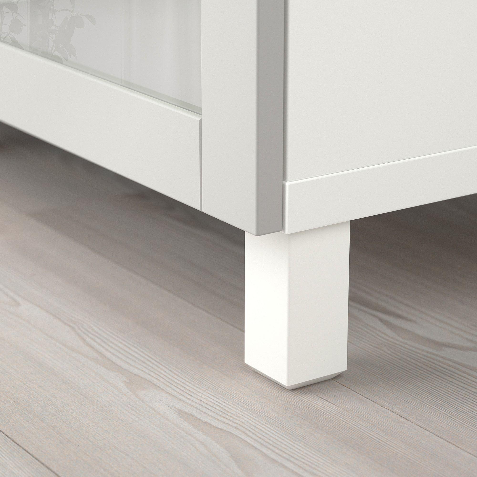 Besta Aufbewahrung Mit Turen Weiss Sindvik Klarglas H Grau Weisse Turen Aufbewahrung Und Ikea