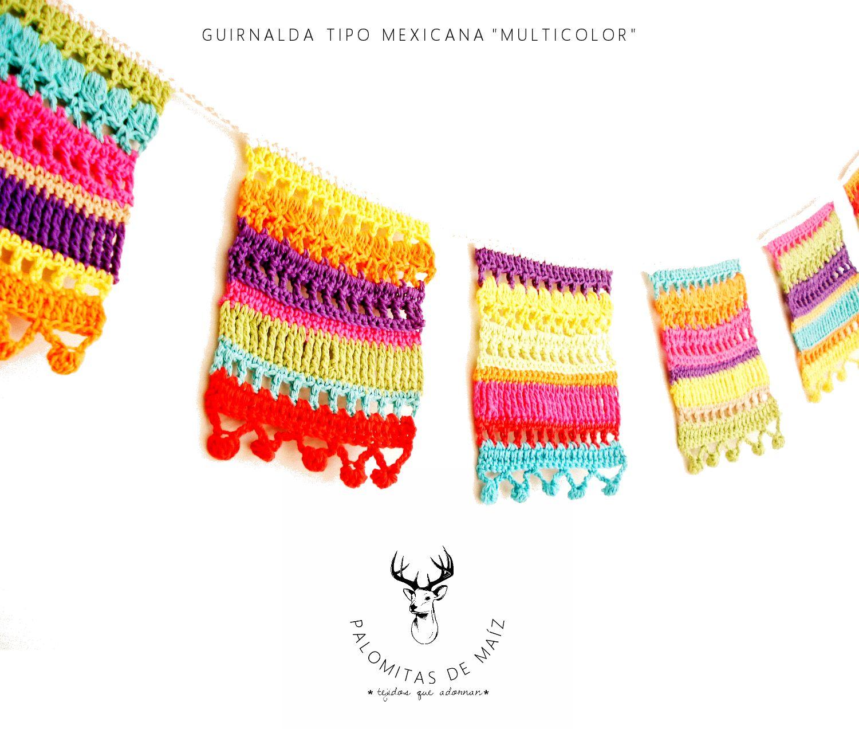 Pin by Tara Williams on Chrochet/Knitting | Crochet, Crochet garland ...