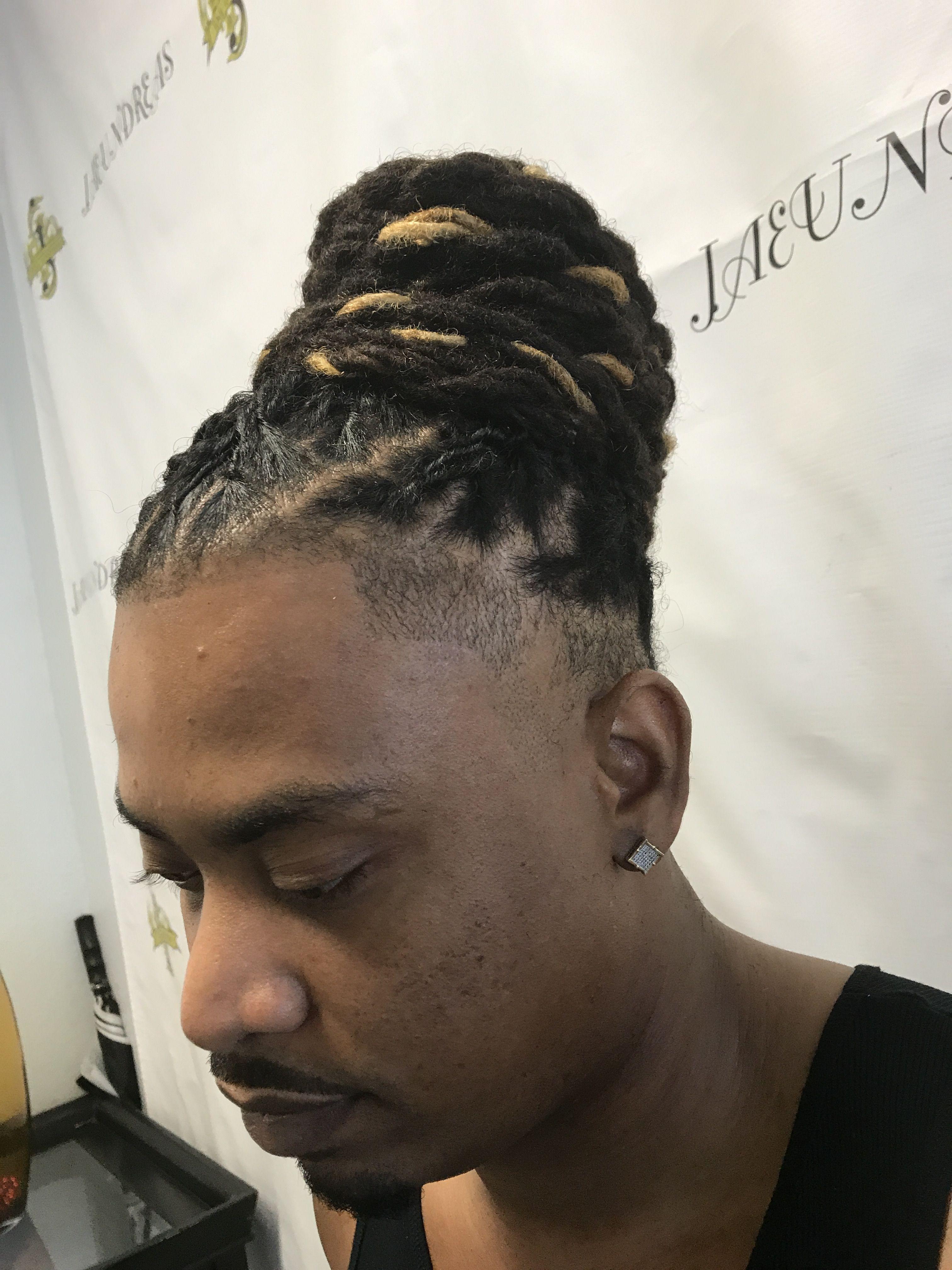 Man Bun Hair Crush Mens Dreads Dreads
