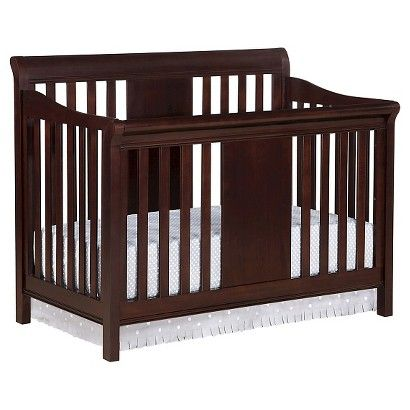 Eddie Bauer Port Townsend 4 In 1 Convertible Crib Black Cherry Cribs Convertible Crib Headboards For Beds