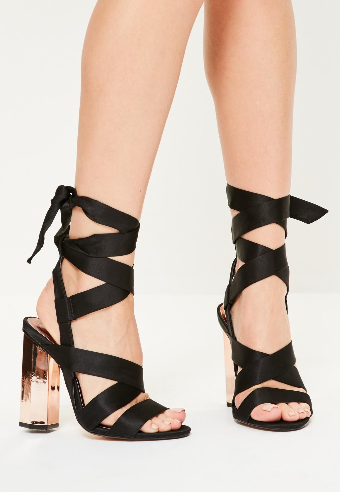 bfb51d0d82341 Lace Up Heels