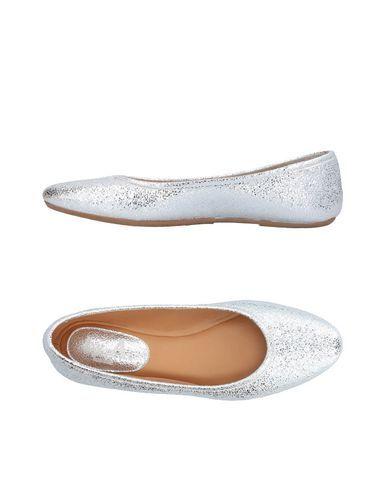 BY A. Women's Ballet flats Silver 6 US