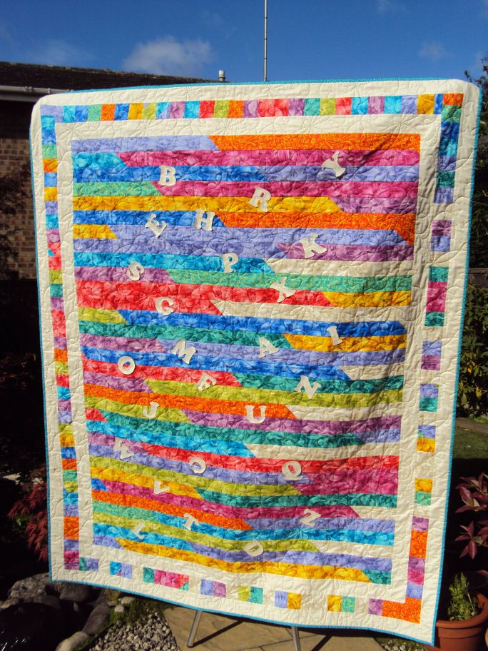 1600 quilt designs | The Jelly Roll 1600 Quilt is a project that ... : 1600 quilts - Adamdwight.com