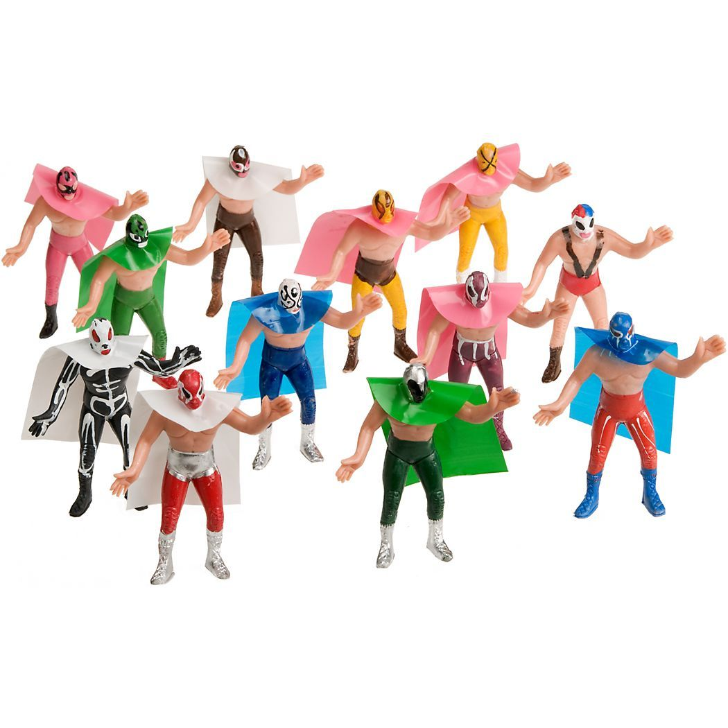 Juguetes Lucha Libre Lucha Libre Dolls High Flying Latin Wrestlers Set Of 12