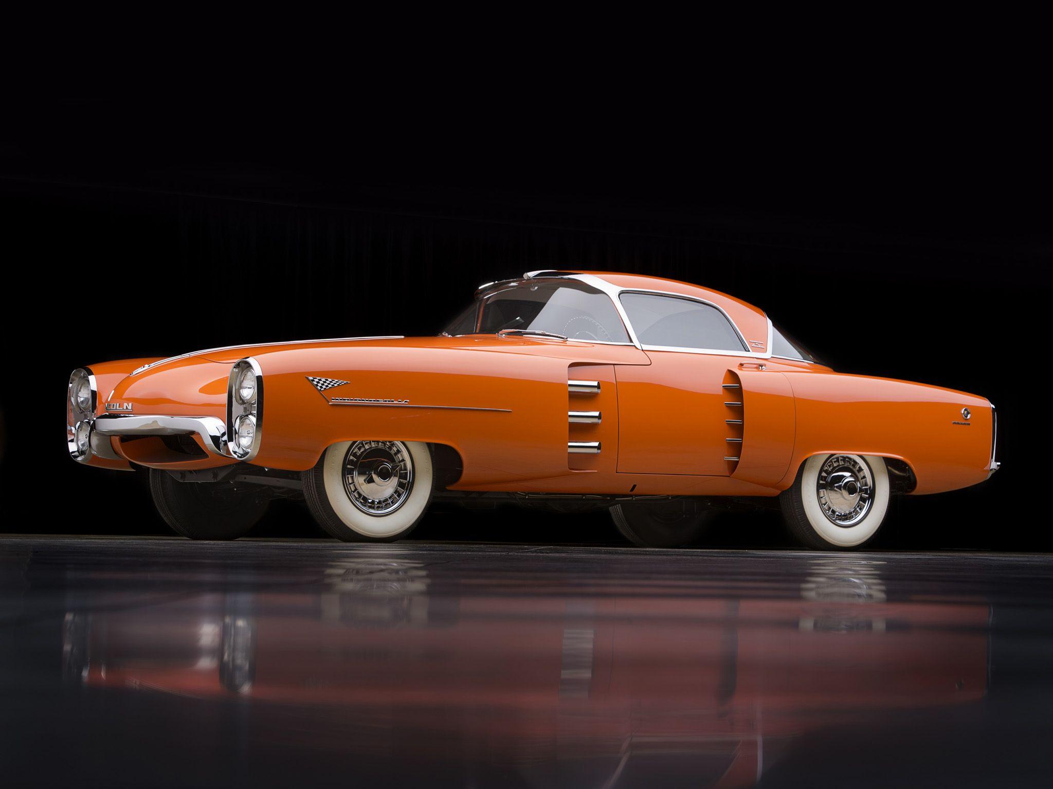 1955 Lincoln Indianapolis Boano Coupe concept