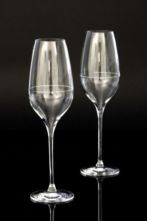 The Richard Juhlin Optimum champagne glass by Claesson Koivisto Rune for Italesse