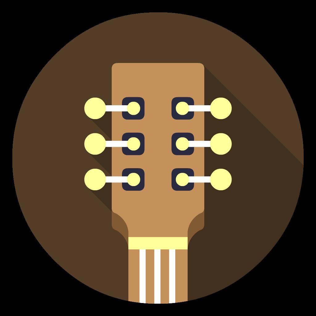 garage band flat icon