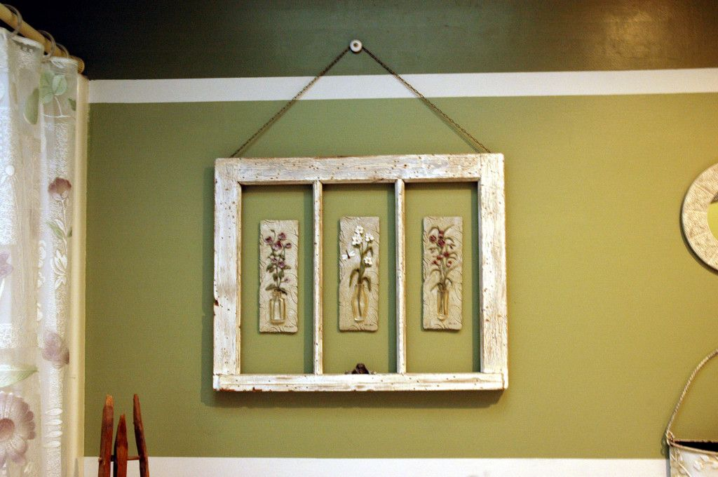 Framed Bathroom Art | Window frames, Framed wall art and Window