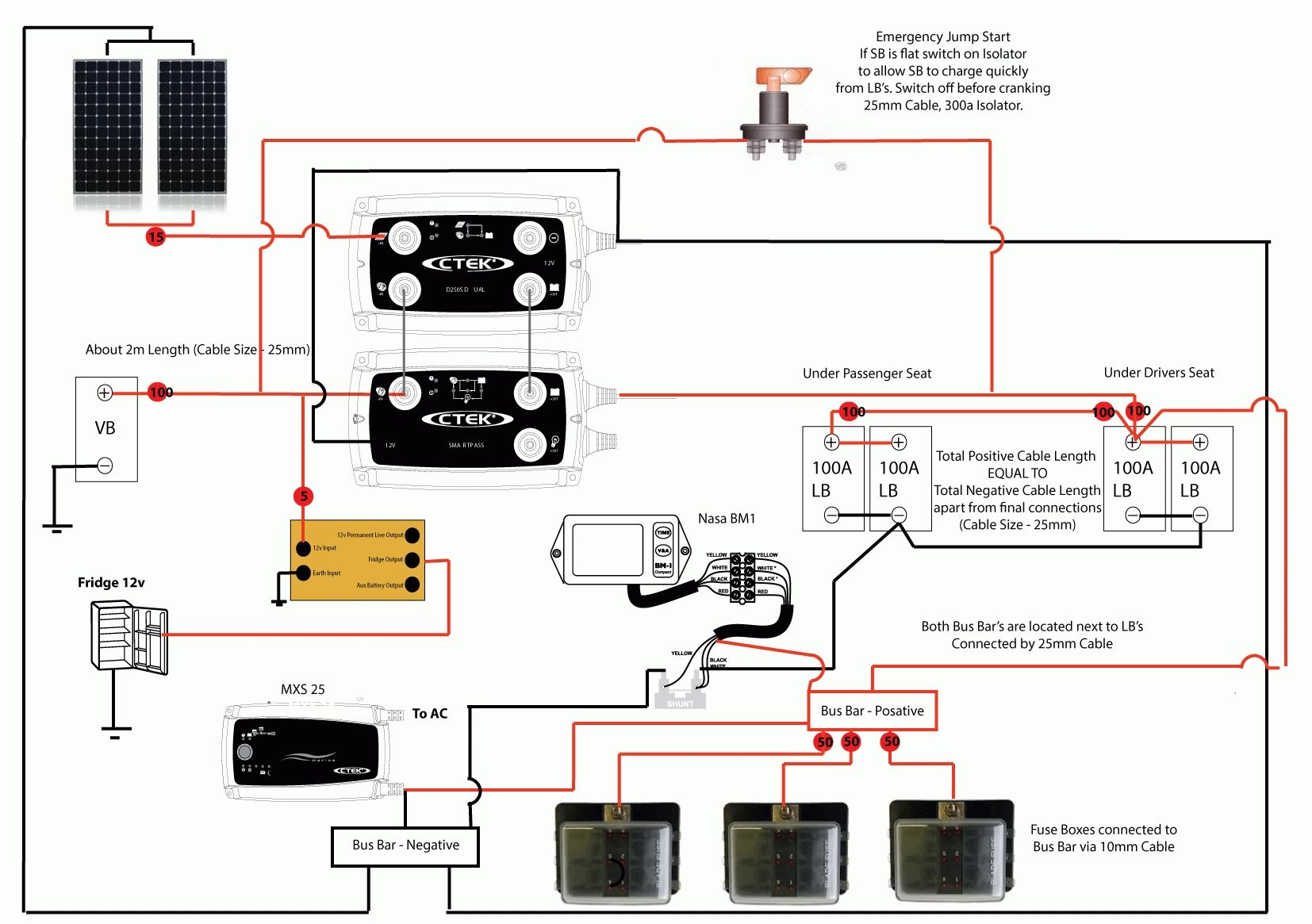 Nasa Battery Monitor Wiring Diagram | WiringDiagram.org 100 Series  Landcruiser, Camper Conversion,