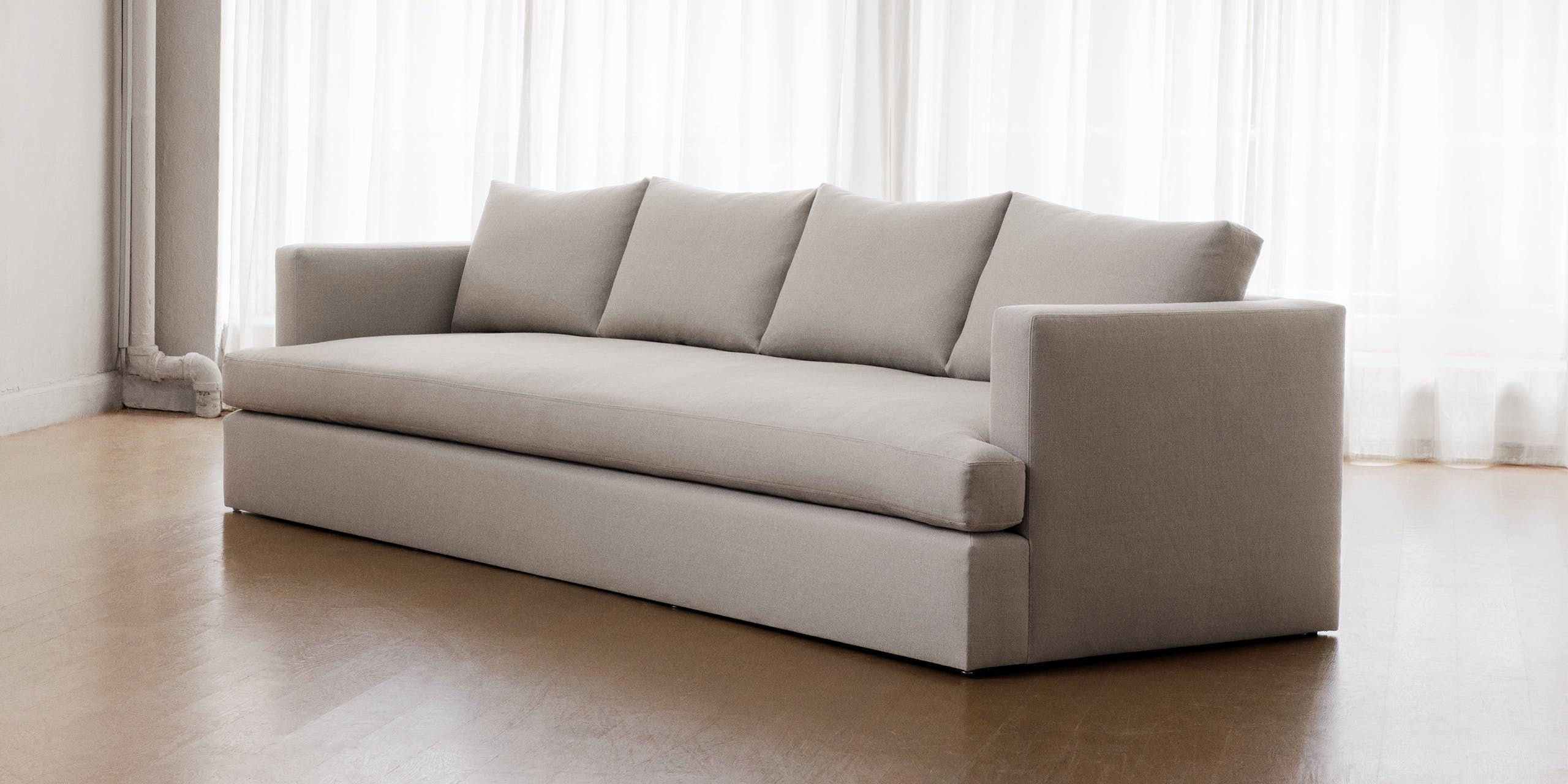 Chelsea Square Sofa Leather Fabric Sofas Wowcher Sectional Wdf Contemporary Williams Loughead Residence Pinterest Squares