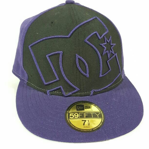 013a57ec9db Cool item  New Era DC Flat Brim Hat Fitted Size 7.5
