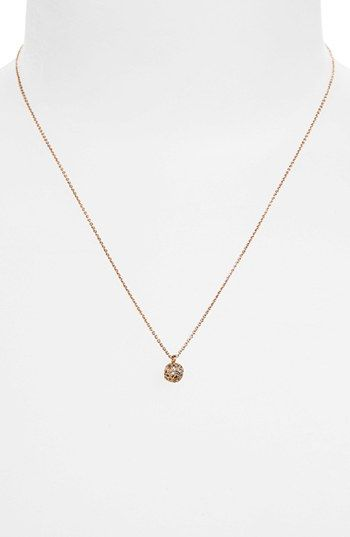 Rebecca Minkoff Mini Pavé Charm Pendant Necklace available at #Nordstrom
