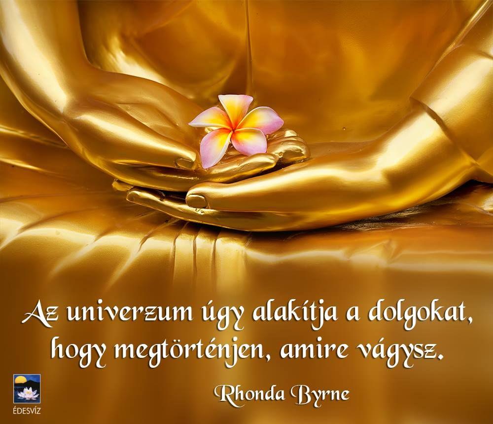 Rhonda Byrne gondolata a vágyakról. A kép forrása: Édesvíz Kiadó