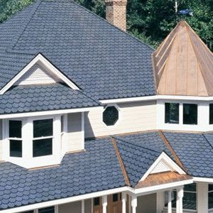 Best Victorian Blue Carriage House Shingles Shingle House 400 x 300